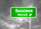 Success next exit